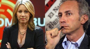 """Non c è nulla di scandaloso se un presunto innocente è in carcere Gaia Tortora contro Travaglio: """"Ma vaffanc.."""""""