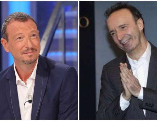 """25 mila euro a Jebreal, 300 mila a Benigni, e 500 mila ad Amadeus Ed io pago… """"il canone"""""""