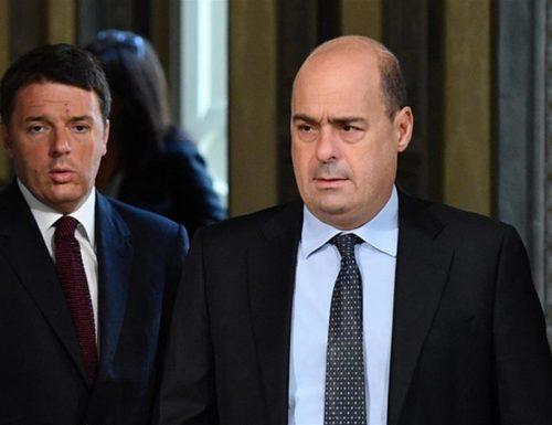 """Diatriba Zingaretti a Renzi: """"Vai contro corrente, gli avversari non siamo noi"""""""