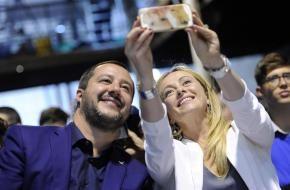 """Sondaggio Emg per Agorà Meloni e Salvini superano Conte come gradimento: """"Sono più affidabili"""""""