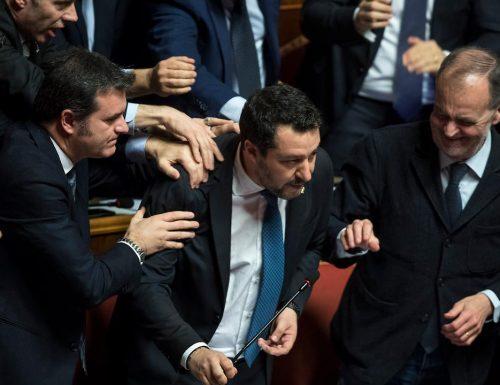 """Caso Gregoretti, il Senato vota """"si""""  Salvini andrà a processo"""
