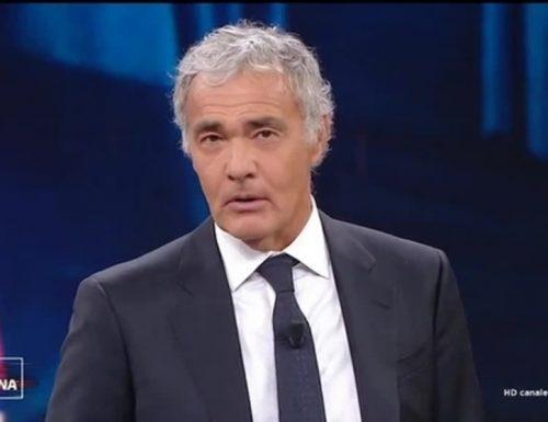 """Daniele: Solidarietà a Massimo Giletti, minacciato di morte in diretta TV: """"offese vili e vigliacche"""""""