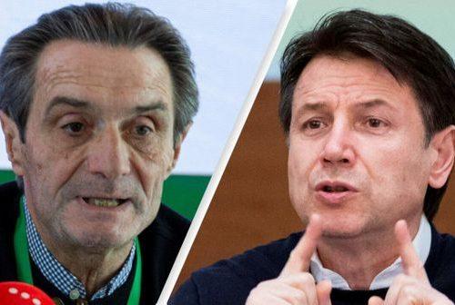 """Fontana a valanga contro  Conte: """"Te ne vai dalla D'Urso e poi attacchi i medici"""""""