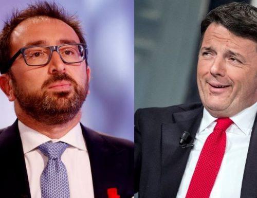 """Prescrizione Botta e risposta  Bonafede-Renzi: """"Non trattiamo  con Renzi"""" La risposta: """"Zitto, non hai i numeri"""""""