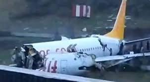Istambul Boeing si schianta sulla pista: circa  cinquanta i feriti