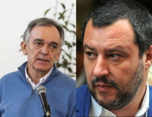 """La denuncia di Salvini al governatore Rossi: """"sta mettendo a rischio la salute dei toscani"""""""