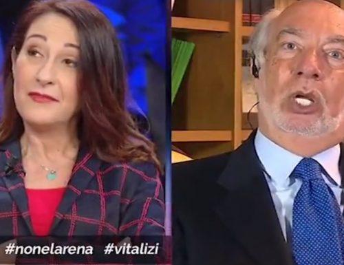 """Vitalizi Duro scontro Paniz-Taverna a """"Non è L'Arena"""" / Video"""