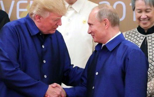 Vladimir Putin invia aiuti in America, Trump ringrazia