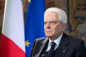 """L'appello del Presidente Mattarella: """"L'Europa intervenga prima che sia troppo tardi"""""""