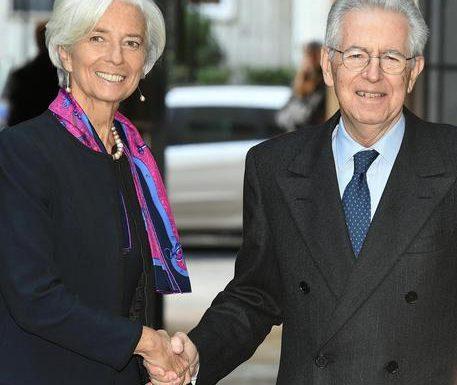"""Il traditore Mario Monti, difende la Lagarde: """"Ha ragione"""""""