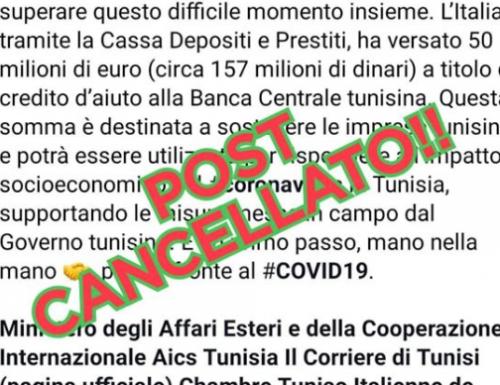 """Coronavirus, lo schifo nello schifo L'Italia versa 50 milioni alla Tunisia: """"Somma destinata alle vostre imprese"""" È caos"""