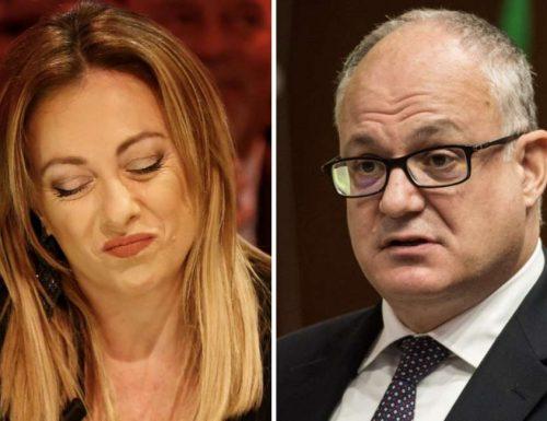 """Supplettive a Roma Sciabolata Meloni: """"Per il PD non esistono regole. Gualtieri non rispetta il silenzio elettorale"""""""