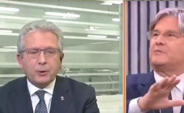 """L'europeista ex comunista, ex Pd, oggi in Italia Viva Gianfranco Librandi, sbrocca: """"Viva l'Europa"""" Paolo Del Debbio lo…"""