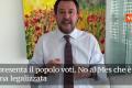 """""""Salvini Bulldozer"""": """"No al Mes. No alla rapina legalizzata. Conte venga subito in Parlamento"""" [Video]"""