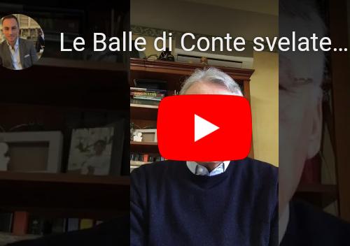 Decreto liquidità Ennesimo provvedimento truffa Ecco le balle di Conte svelate in 4 parole [Video]