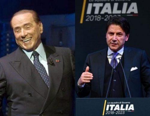 Giuseppe Conte per la terza volta in paradiso per disgrazia Cambia la maggioranza ma lui no.. Berlusconi gli salva il cu**?