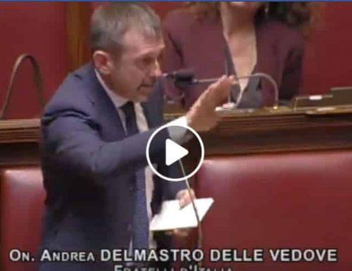 """Boss mafiosi scarcerati Delmastro disintegra Bonafede in aula: """"Bonafede è il più infausto ministro della giustizia italiana, vergogna"""" [Video]"""