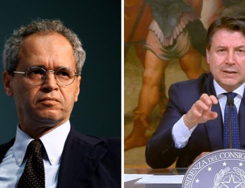 """""""Botta e risposta"""" Mentana zittisce Conte: """"No a polemiche politiche in tv"""""""