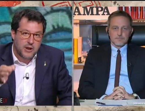 """Gli imprenditori non riaprono perché non vogliono lavorare? Salvini perde la pazienza con il presidente dell'Inps Tridico: """"Ma sciacquati la bocca"""""""