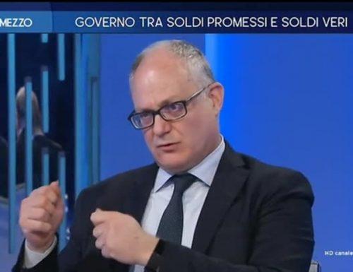 """[Video] Figuraccia  Gualtieri ad """"Otto e Mezzo"""" Non sa neanche quello che dice: """"Il Mes è un prestito che non aumenta il debito pubblico. Il Mes è un prestito che aumenta il debito pubblico"""" Lo aumenta o no?"""