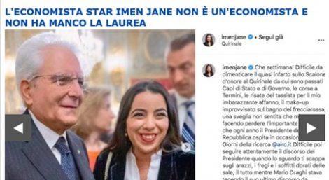 """Ecco chi sono gli odiatori di sinistra Diceva: """"Salvini è un omuncolo, serve competenza"""". Sputtanata Imen Jane, l'economista marocchina del Pd senza laurea"""
