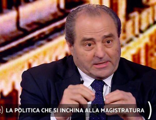 """Panico a Quarta Repubblica,  Antonio Di Pietro sul caso Palamara: """"Ci sono due modi per fermare un magistrato: ammazzarlo e.."""" Gelo in studio Porro: """"Sta dicendo una cosa gravissima"""""""
