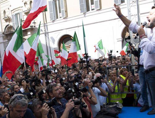 Sondaggio Swg: Lega primo partito Cresce ancora Fratelli d'Italia. Pd in caduta libera Calenda sorpassa Renzi