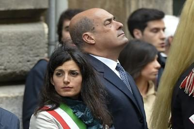 Covid, a Roma è boom di contagi ma tv e giornali non ne parlano   per rispetto a don Zingaretti e a donna Virginia Raggi