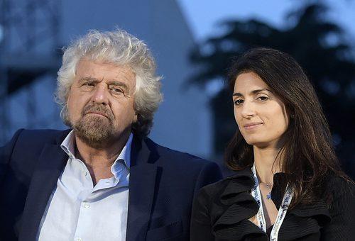 """Le offese di Grillo al popolo romano per la Raggi: """"pija 'na valigia e se n'annamo via da sta gente de' fogna"""""""