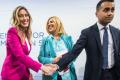 """Dopo la figura di mer** sullo yacht a Ischia,  Maria Elena Boschi finge di preoccuparsi per gli italiani M5s: """"Un no ideologico e assurdo, subito i soldi agli italiani"""""""