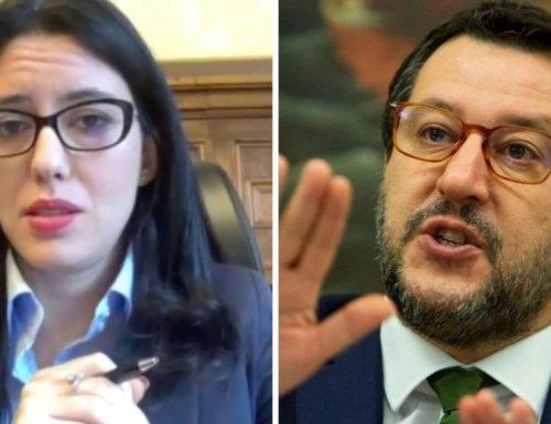 """Scontro duro Salvini-Azzolina: """"da Piemonte in Sicilia, un milione di studenti senza classi"""". La replica della Azzolina: ah, è, ora, si…."""""""