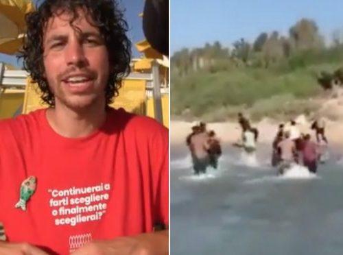 La predica di Santori sui migranti dalla spiaggia in stile Salvini. Poi critica il curriculum della Ceccardi. Proprio lui che a 34 anni vive ancora con i genitori