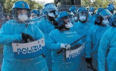 Vergogna senza precedenti. Migranti positivi al coronavirus in  rivolta a Rocca di Papa: poliziotti protetti solo da un camice