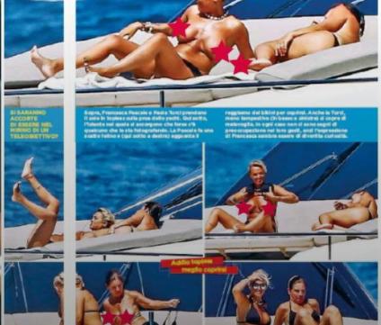 Francesca Pascale e Paola Turci, oltre al bacio sullo yacht da 60mila euro a settimana Foto piccanti