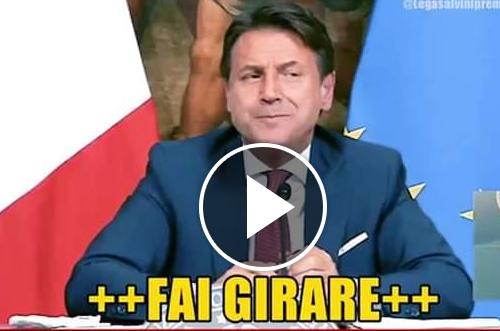 Giuseppe Conte smentito da questo video: sulle zone rosse è stato un disastro