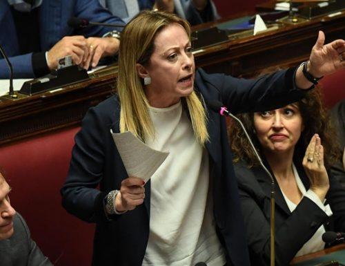"""Verbali segreti, la Meloni a viso aperto: """"Conte ha prorogato l'emergenza solo per salvare la poltrona"""""""