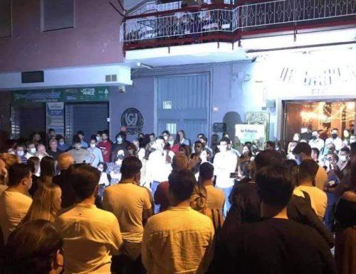 """Bagno di folla per Antonio Angelino: """"io e la mia squadra di governo abbiamo le mani libere, sopra di noi ci sono solo i cittadini"""""""
