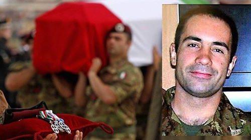 """Gaetano Daniele saluta Massimiliano Randino caduto a Kabul il 17 settembre 2009: """"Sempre nel mio cuore, fratello"""""""