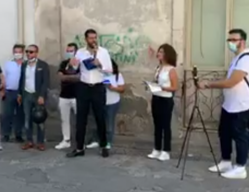 Bagno di folla per Antonio Angelino, candidato a sindaco di Caivano