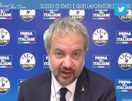 """La mazzata finale   a Mister Inps   Pasquale Tridico arriva da Claudio Borghi: """"Inadeguato, non sa neanche l'italiano"""""""