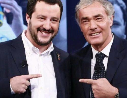 Massimo Giletti sindaco di Roma con il centrodestra, ben visto da Salvini e Meloni.  Il conduttore non smentisce