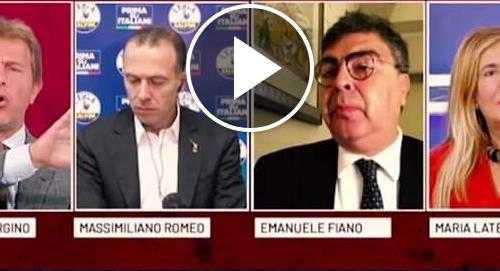 """Matteo Salvini a valanga contro Emanuele Fiano: """"Pretende di dare ordini ai giornalisti, si deve vergognare"""""""