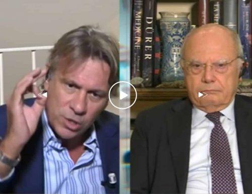 """Nicola Porro vs Massimo Galli, rissa senza precedenti: """"Mi cacciano da Mediaset"""", """"Tolgo l'auricolare"""". Parole incredibili"""
