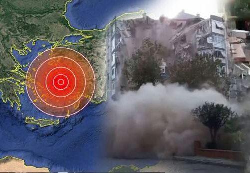 Terremoto di magnitudo 7.0 in Turchia e Grecia. Si teme una strage, rischio tsunami anche in Italia