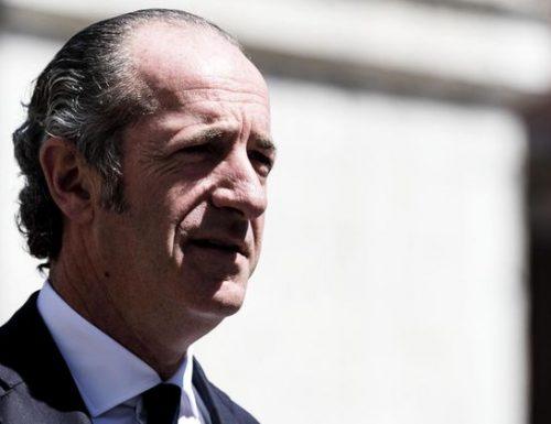 """L'affondo del governatore Zaia ai manutengoli: """"Il governo non ha il consenso degli italiani, le stampelle per tenerlo in piedi sono inutili"""""""