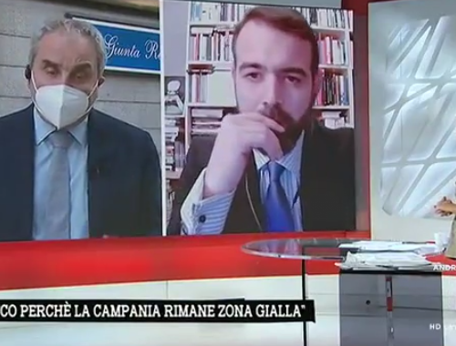 """Campania, Pietro Buono dell'Unità di crisi smaschera De Luca: """"Coronavirus, a cittadini e ministero arrivano dati diversi"""" [Video]"""