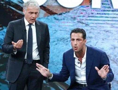 La7, Non è l'Arena, Fabrizio Corona torna da Giletti: caso Genovese, rivelazioni pesanti. Qui viene giù la Milano vip