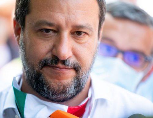 Esclusiva / Il Segretario Federale della Lega, già ministro dell'Interno On. Matteo Salvini a il Notiziario e ith24 di Gaetano Daniele
