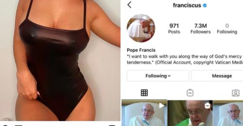 """Ecco chi è Margot, la modella milanese che da indiscrezioni ha ottenuto il """"Mi Piace"""" di Papa Francesco"""