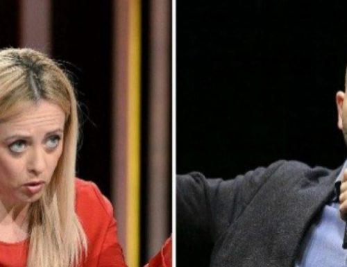 """La leader di Fratelli d'Italia Giorgia Meloni querela Saviano: """"Sciacallaggio disgustoso. Non sono disposta a tollerare"""""""